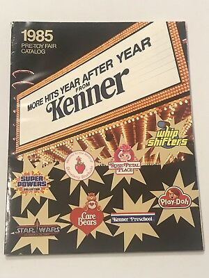 Kenner Catalog 1985 Pre-Toy Fair Power of the Force Care Bears Vintage Toy Book