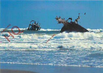 Picture Postcard-:Wreck Of Montrose, Skeleton Coast, Namibia (Shipwreck)