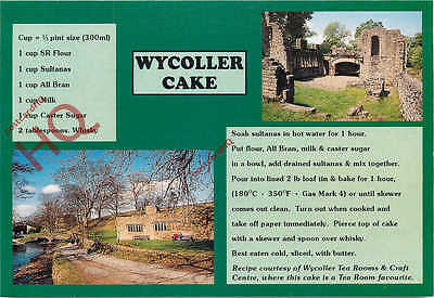 Picture Postcard-:Wycoller, Wycoller Cake Recipe