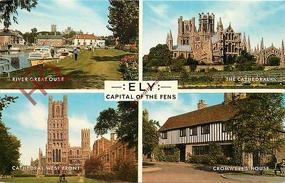 Picture Postcard; Ely (Multiview) [Salmon]