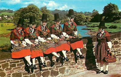 Picture Postcard~ Welsh National Costume