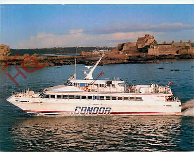 Picture Postcard: CONDOR 8 FERRY, CHANNEL ISLANDS