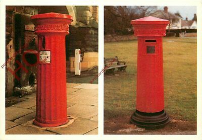 Picture Postcard: Doric Column Pillar Boxes