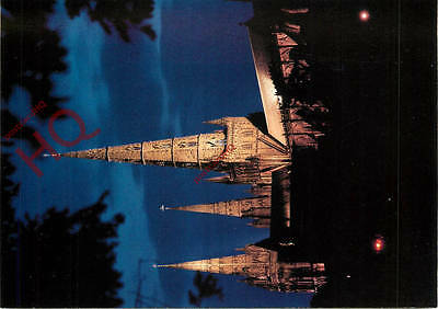 Picture Postcard: Lichfield Cathedral, Floodlit