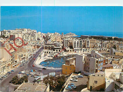 Picture Postcard: Malta, St. Julians, Spinola Bay