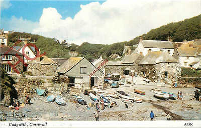 Picture Postcard, Cadgwith [Harvey Barton]