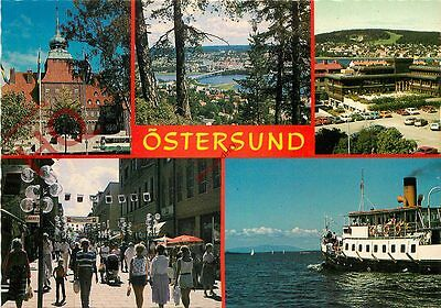 Picture Postcard: Ostersund (Multiview)
