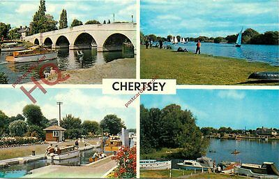 Picture Postcard, Chertsey (Multiview)