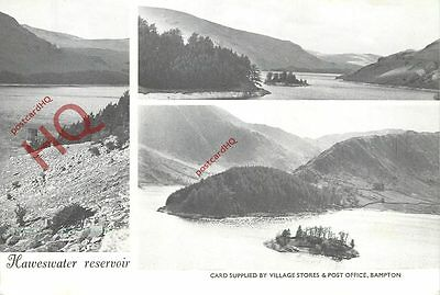 Picture Postcard, Haweswater Reservoir