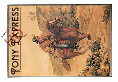 Picture Postcard, Pony Express [Richard Blake]