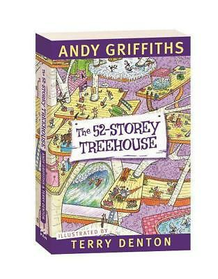 NEW The 52-Storey Treehouse By Andy Griffiths Paperback Free Shipping