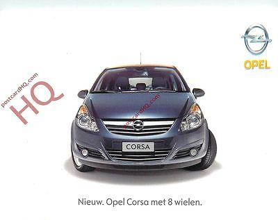 Picture Postcard::Opel Corsa Advertising