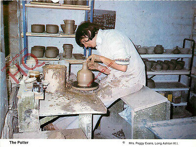 Picture Postcard::The Potter