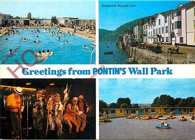 Picture Postcard:;Pontin's, Wall Park (Multiview)
