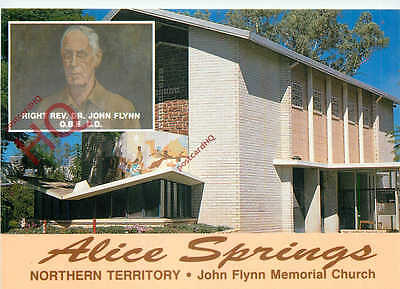 Picture Postcard-:Alice Springs, John Flynn Memorial Church