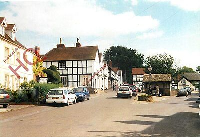 Picture Postcard:;Weobley