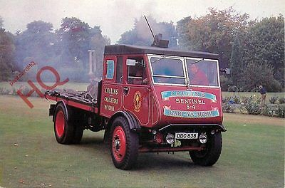 Picture Postcard:-1937 Sentinel S4 2-Axle Steam Lorry