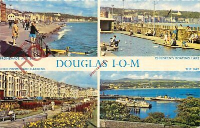 Picture Postcard:;Isle Of Man, Douglas (Multiview)
