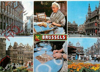 Picture Postcard:-Brussels (Multiview)