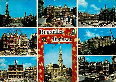 Picture Postcard-:BRUSSELS (Multiview)