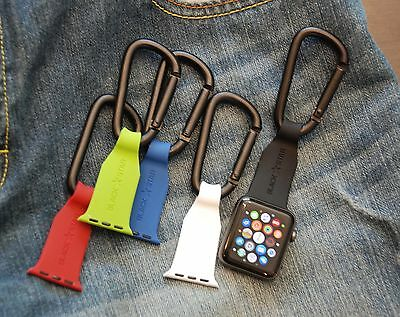 Apple Watch Band Fob Carabiner - Free Shipping