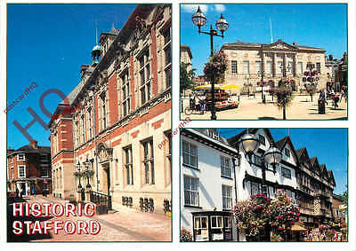 Picture Postcard; Historic Stafford (Multiview)