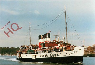 Picture Postcard; PADDLE STEAMER WAVERLEY