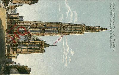 Picture Postcard~ Anvers, Antwerp, Cathedral