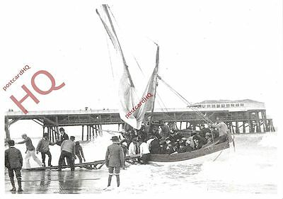 Picture Postcard~ A Yarmouth Holiday, 1892 (Repro)
