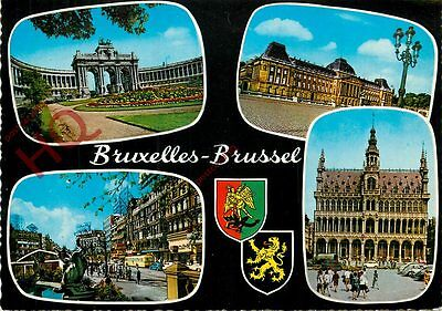 Picture Postcard~ Brussels, Bruxelles (Multiview)