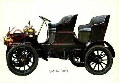 Picture Postcard~ Cadillac 1906