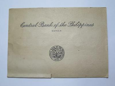 Central Bank Philippines 1958 Mint Set 50 25 10 Centavos Old Coin Collection Lot