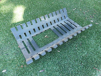 Heavy duty fire grate with hole, Pick up Langwarrin