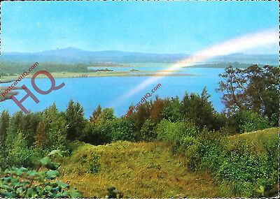 Picture Postcard--Co. Fermanagh, Rainbow Over Lough Erne