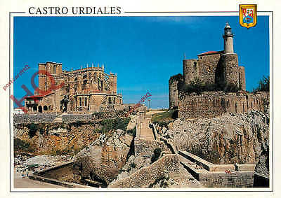 Picture Postcard--Castro Urdiales, Lighthouse