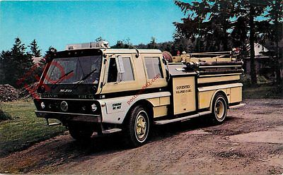 Picture Postcard--Fire Engine, Coventry, N.Y. Fire Co. Engine No. 9e-162
