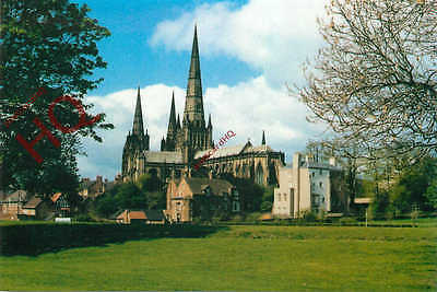 Picture Postcard--Lichfield Cathedral