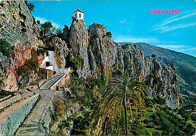Picture Postcard--Guadalest, Picturesque View
