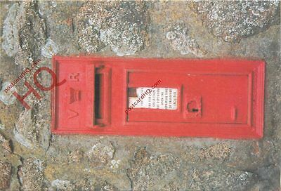 Picture Postcard--Isles Of Scilly, VR Postbox