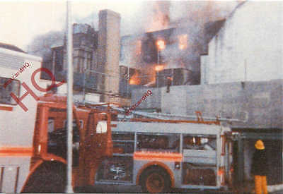 Picture Postcard--Warnes Hotel Tragic Fire, 1987 [Crossroads]