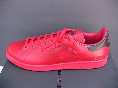 best service 84b1a 05dc5 Adidas Raf Simons Stan Smith TomatoRed Sneakers Sizes 9.5 and 12.5 US  BA7377