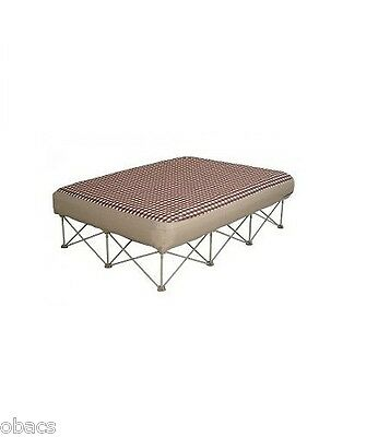 Oztrail Anywhere Bed Queen Stretcher Portable Camping Airbed Queen Size