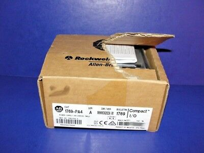 NEW IN ORIGINAL OPEN BOX Allen Bradley 1769-PA4 /A CompactLogix AC Power Supply