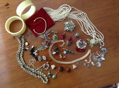vintage and antique jewellery lot