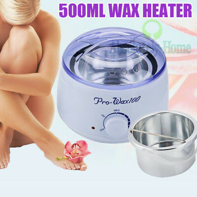 Professional Baby Adult Face Body Heater Wax Waxing Hair Removal Supplies Kit AU