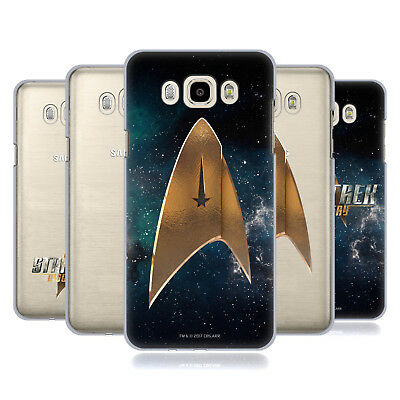 Official Star Trek Discovery Logo Hard Back Case For Samsung Phones 3