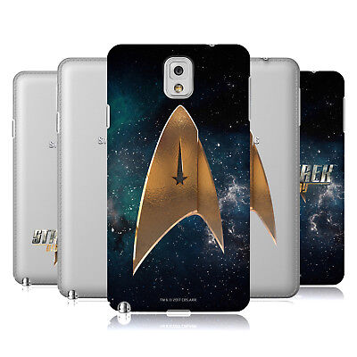 Official Star Trek Discovery Logo Hard Back Case For Samsung Phones 2
