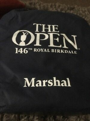 Official Marshals Bag Royal Birkdale 146th The Open