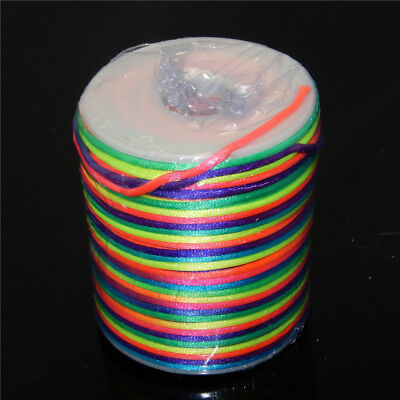 5 m Colorful 2 mm Nylon Thread Cord For Necklace Bracelet DIY Jewellery Making