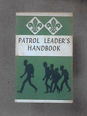 Patrol Leader's Handbook by no author Paperback Book The Cheap Fast Free Post